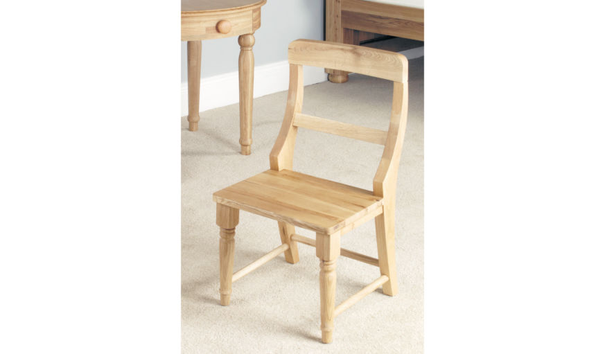 Amelie 2 Oak Children's Chairs