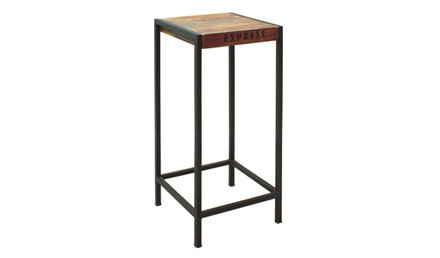 Urban Chic Tall Lamp Table/Plant Stand