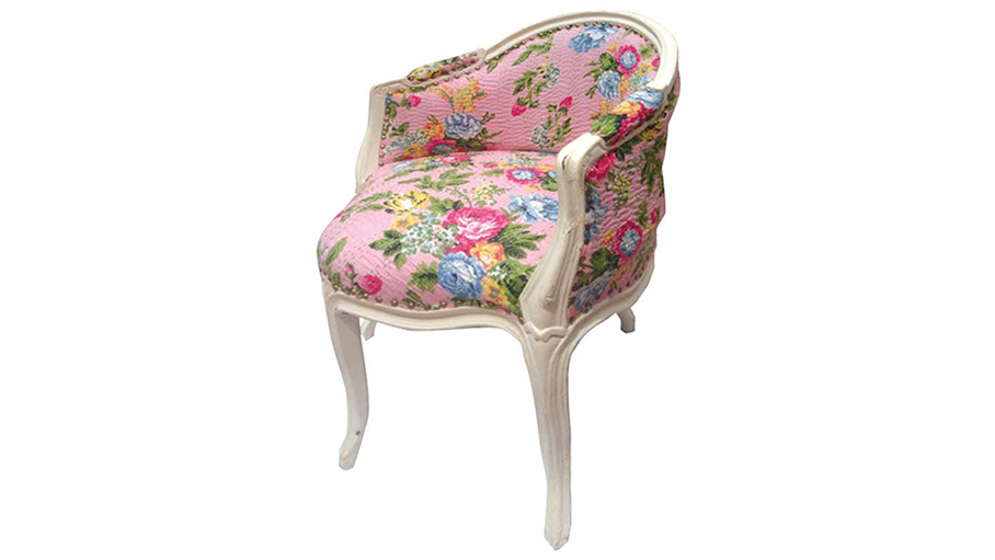 Floral Side Chair (Lucy)