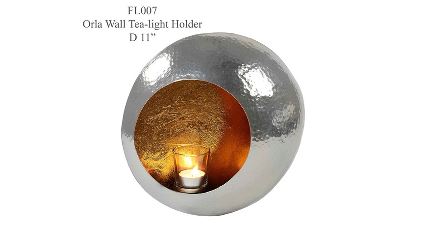 Wall Hung Tea Light Holders : Wall mounted Tea-Light Holder
