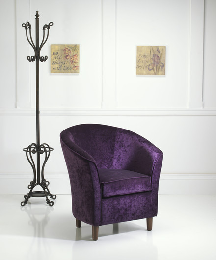 Kirby Tub Chair purple