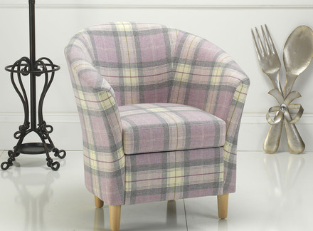 Tartan Tub Chair