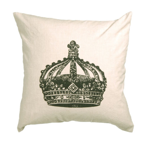 Crown Cotton Cushion