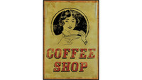 Photography of 'Coffee Shop' Tin Plaque