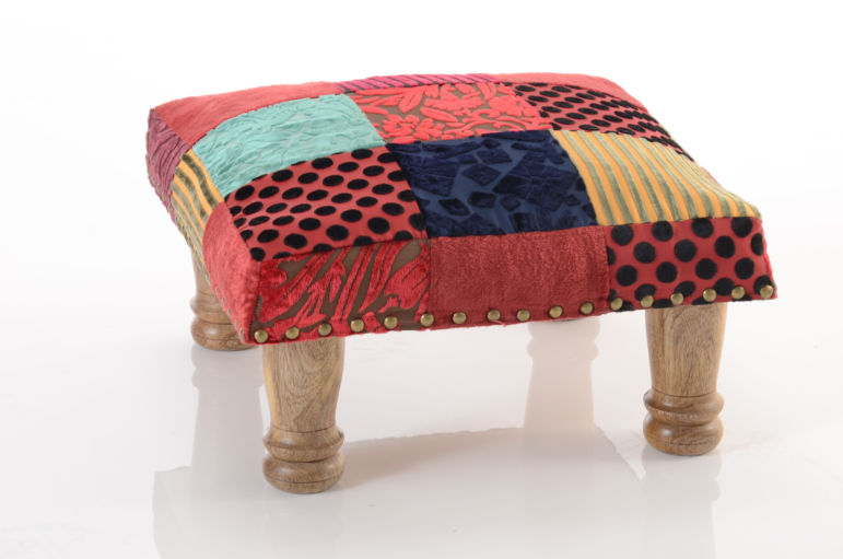 Patchwork Footstool