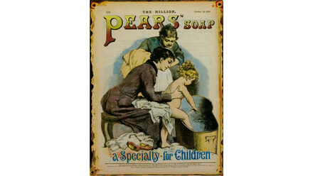 Pears Soap vintage poster