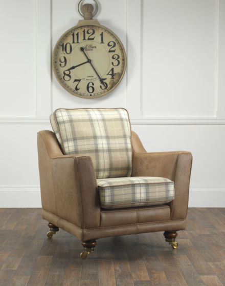 Made to order Tilly Chair with Clock
